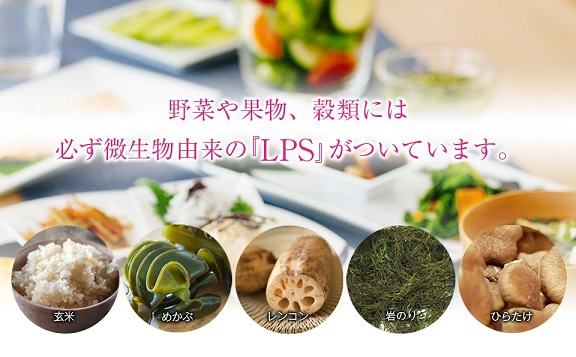 リポポリサッカライド(LPS)が含まれる食べもの